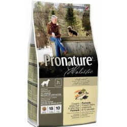 PRONATURE HOLISTIC Dog Senior or Less Active Oceanic White Fish & Wild Rice