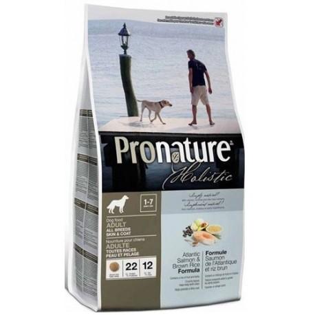 PRONATURE HOLISTIC Dog Skin&Coat Atlantic Salmon & Brown Rice