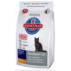 HILL'S SP FELINE MATURE Sterilised Chicken