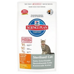 HILL'S SP FELINE YOUNG ADULT Sterilised Chicken