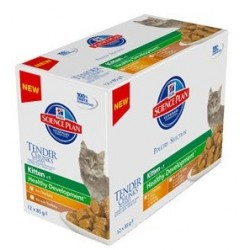 HILL'S SP FELINE KITTEN Multipack Polutry Selection 85g X 12szt. saszetka