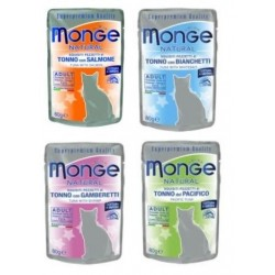 MONGE CAT Natural 80g saszetka