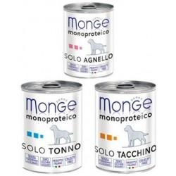 MONGE DOG Monoproteico 400g puszka