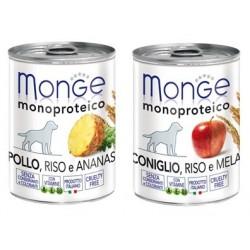 MONGE DOG Monoproteico Fruit 400g puszka