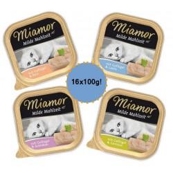 MIAMOR Milde Mahlzeit Adult 16x100g drobiowy pakiet