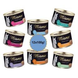 MIAMOR Feine Filets 12x100g mix smaków