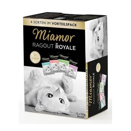 MIAMOR Ragout Royale w sosie 12x100g mix smaków