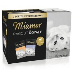 MIAMOR Ragout Royale Kitten w galaretce 12x100g mix smaków