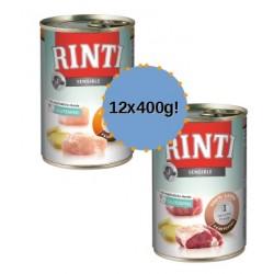 RINTI Sensible 12x400g mix dla wrażliwych psów