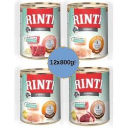 RINTI Sensible 12X800g mix dla wrażliwych psów