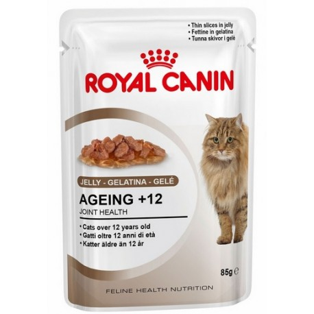 ROYAL CANIN CAT Ageing + 12 w galaretce 85g saszetka