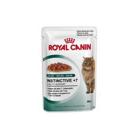 ROYAL CANIN CAT Instinctive +7 w galaretce 85g saszetka