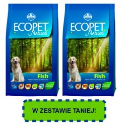 FARMINA ECOPET Natural Medium Adult Fish PROMOCJA