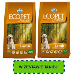 FARMINA ECOPET Natural Mini Lamb PROMOCJA