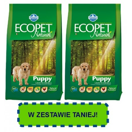 FARMINA ECOPET Natural Maxi Puppy Chicken PROMOCJA
