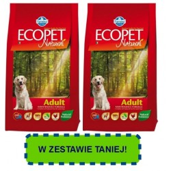FARMINA ECOPET Natural Medium Adult Chicken PROMOCJA