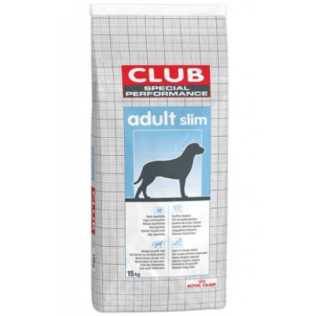 ROYAL CANIN CLUB DOG Adult Slim 15kg