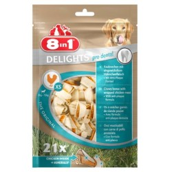 8in1 Delights Bones XS 21szt.