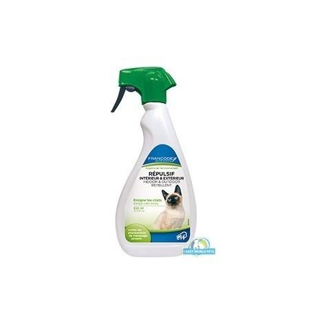 FRANCODEX Spray zapobiegający oznaczaniu przez psa terenu poza domem 650ml