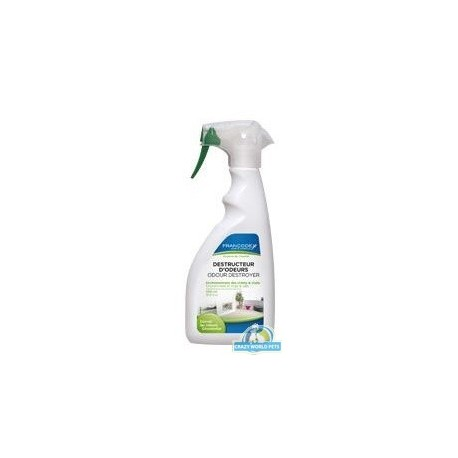 FRANCODEX Spray neutralizujący brzydki zapach w otoczeniu psa, kota 500ml