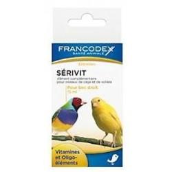 FRANCODEX Witaminy na proste dzioby dla ptaków 15 ml