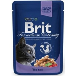 BRIT Premium Cat Adult 100g saszetka