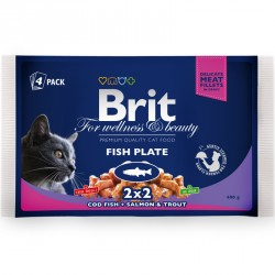 BRIT Premium Cat Adult 4x100g saszetka