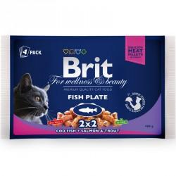 BRIT Premium Cat Adult 4x100g saszetka