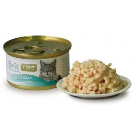 BRIT Care Cat Kitten 80g puszka