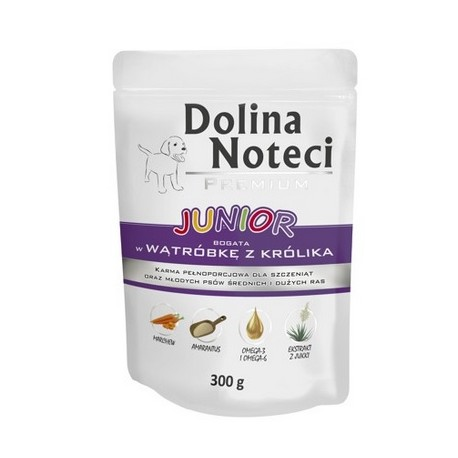 DOLINA NOTECI Dog Junior 400g puszka