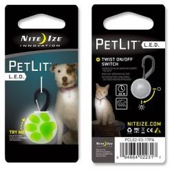 NITE IZE PetLit LED Zawieszka świecąca do obroży